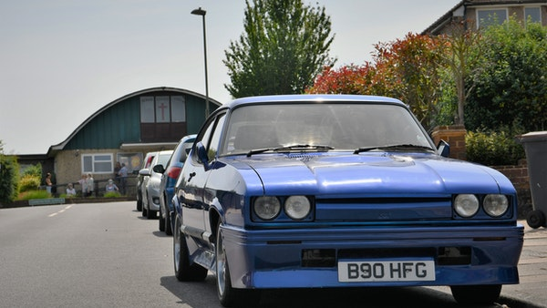 RESERVE LOWERED - 1984 Ford Capri 24v Cosworth For Sale (picture 14 of 128)