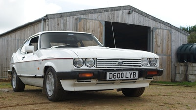 RESERVE LOWERED - 1986 Ford Capri 2.8i Special