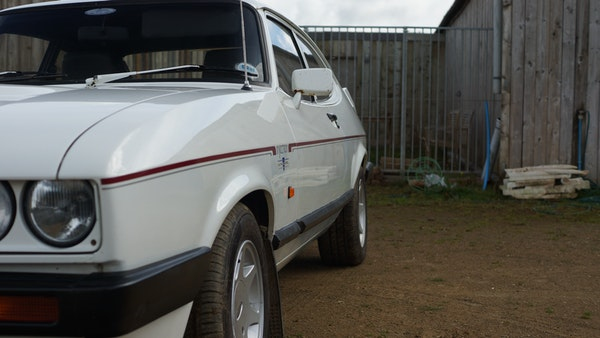 RESERVE LOWERED - 1986 Ford Capri 2.8i Special For Sale (picture 81 of 182)