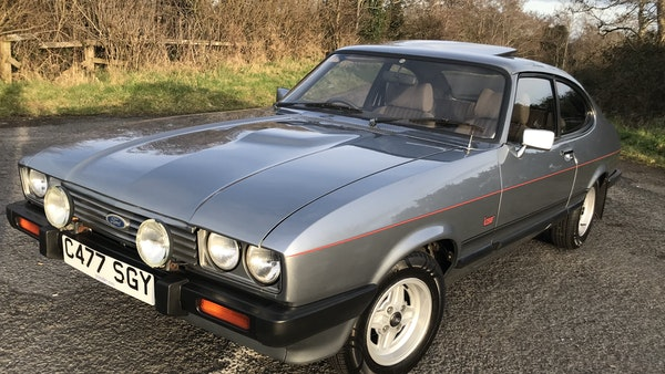 1985 Ford Capri Laser 2.0 For Sale (picture 14 of 93)
