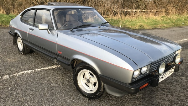 1985 Ford Capri Laser 2.0 For Sale (picture 19 of 93)