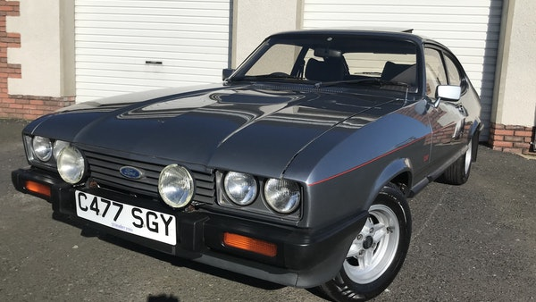 1985 Ford Capri Laser 2.0 For Sale (picture 16 of 93)