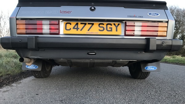 1985 Ford Capri Laser 2.0 For Sale (picture 46 of 93)