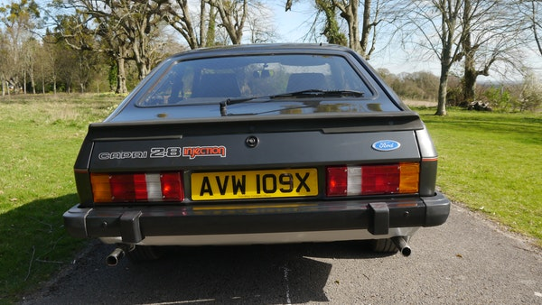 RESERVE LOWERED - 1981 Ford Capri 2.8 injection For Sale (picture 19 of 144)