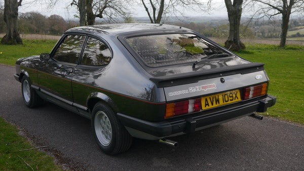RESERVE LOWERED - 1981 Ford Capri 2.8 injection For Sale (picture 9 of 144)