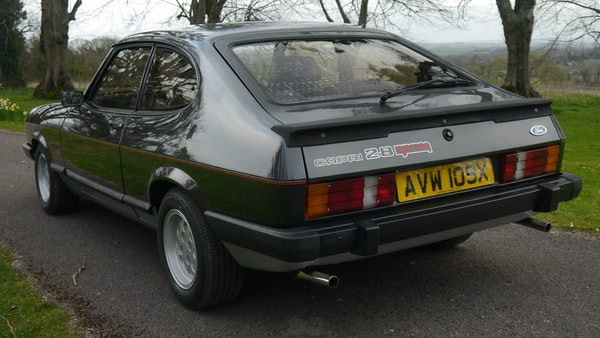 RESERVE LOWERED - 1981 Ford Capri 2.8 injection For Sale (picture 16 of 144)