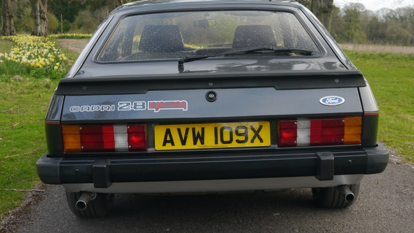 RESERVE LOWERED - 1981 Ford Capri 2.8 injection For Sale (picture 12 of 144)