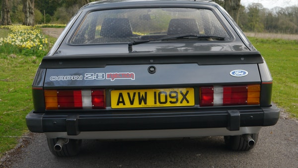 RESERVE LOWERED - 1981 Ford Capri 2.8 injection For Sale (picture 11 of 144)