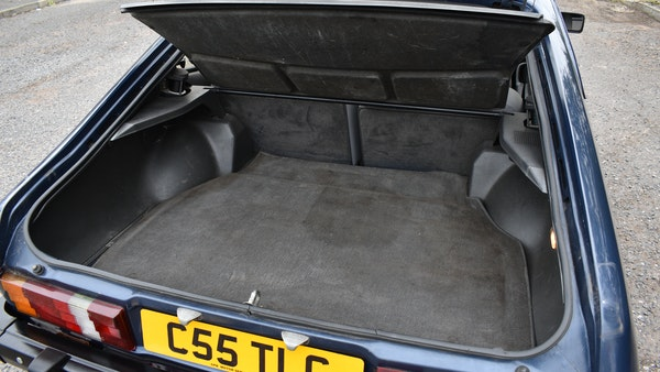 1985 Ford Capri 2.8 Injection Special For Sale (picture 52 of 84)