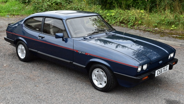 1985 Ford Capri 2.8 Injection Special For Sale (picture 11 of 84)
