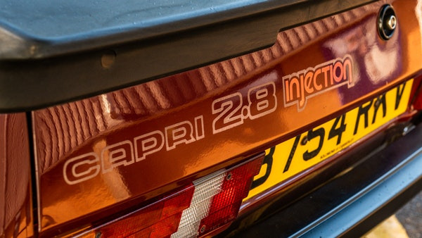 1985 Ford Capri 2.8i For Sale (picture 41 of 167)