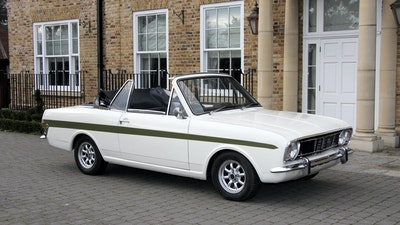 1968 Ford Lotus Cortina Convertible