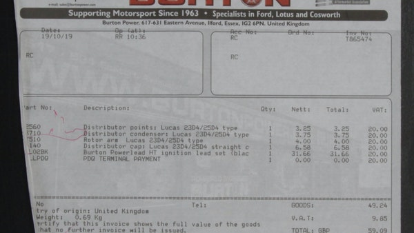 1968 Ford Lotus Cortina Convertible For Sale (picture 103 of 117)