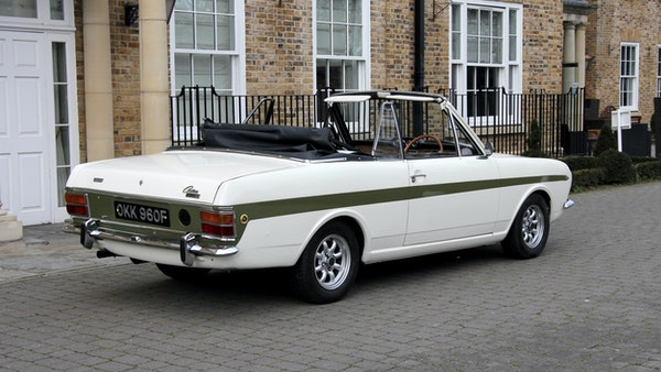 1968 Ford Lotus Cortina Convertible For Sale (picture 14 of 117)