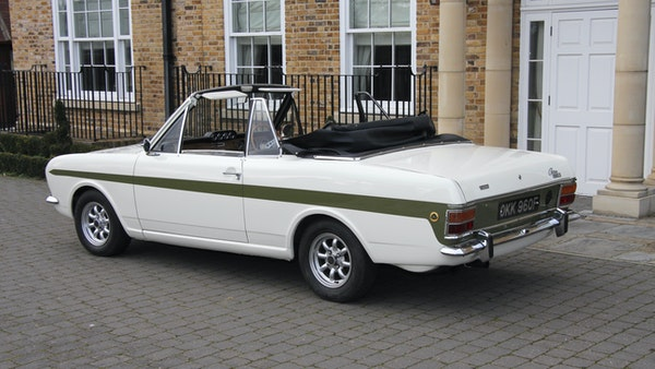 1968 Ford Lotus Cortina Convertible For Sale (picture 6 of 117)