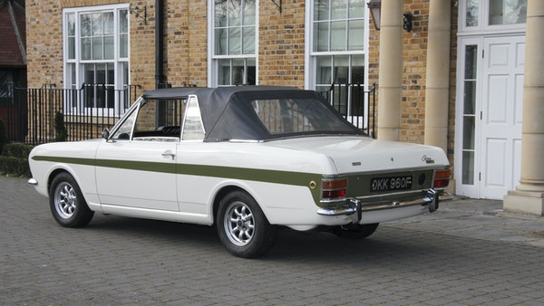 1968 Ford Lotus Cortina Convertible For Sale (picture 5 of 117)