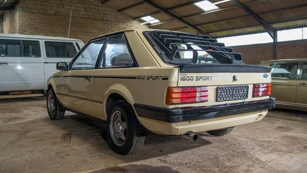 1986 Ford Escort 1600 Sport For Sale (picture 7 of 80)