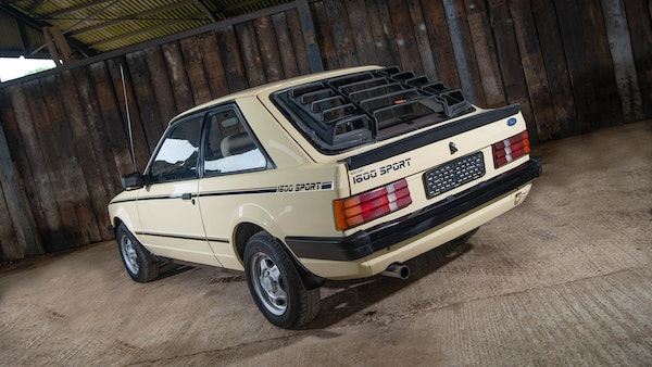 1986 Ford Escort 1600 Sport For Sale (picture 16 of 80)