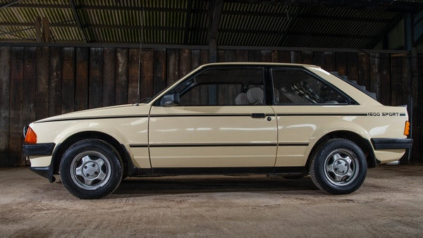 1986 Ford Escort 1600 Sport For Sale (picture 5 of 80)
