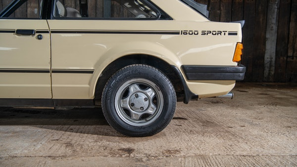 1986 Ford Escort 1600 Sport For Sale (picture 9 of 80)