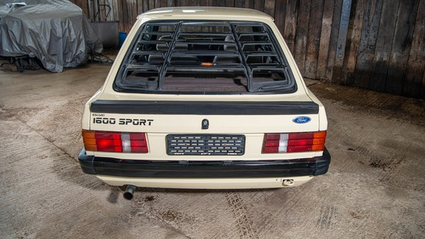 1986 Ford Escort 1600 Sport For Sale (picture 18 of 80)