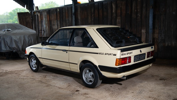 1986 Ford Escort 1600 Sport For Sale (picture 4 of 80)