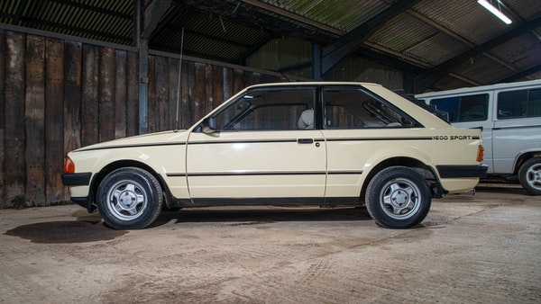 1986 Ford Escort 1600 Sport For Sale (picture 19 of 80)