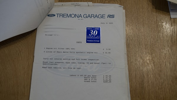 1990 Ford Escort RS Turbo S2 For Sale (picture 109 of 118)