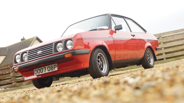 1976 Ford Escort RS2000 Mk2 For Sale (picture 8 of 161)