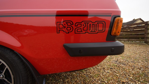 1976 Ford Escort RS2000 Mk2 For Sale (picture 84 of 161)