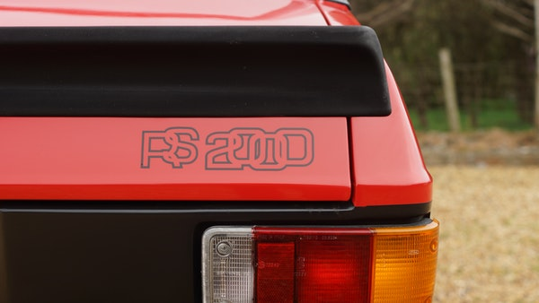 1976 Ford Escort RS2000 Mk2 For Sale (picture 74 of 161)