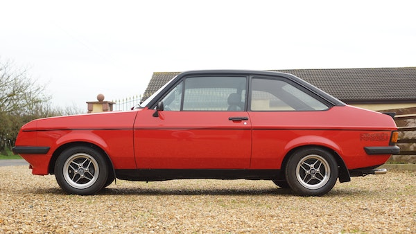 1976 Ford Escort RS2000 Mk2 For Sale (picture 10 of 161)