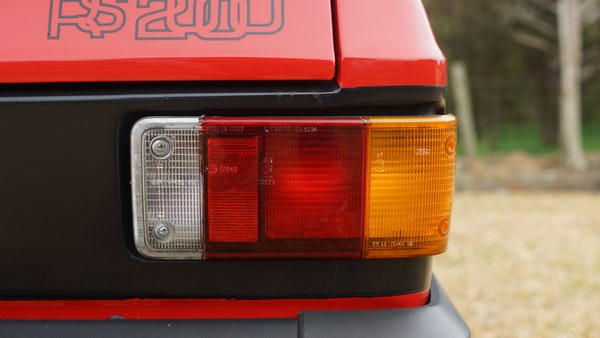 1976 Ford Escort RS2000 Mk2 For Sale (picture 76 of 161)