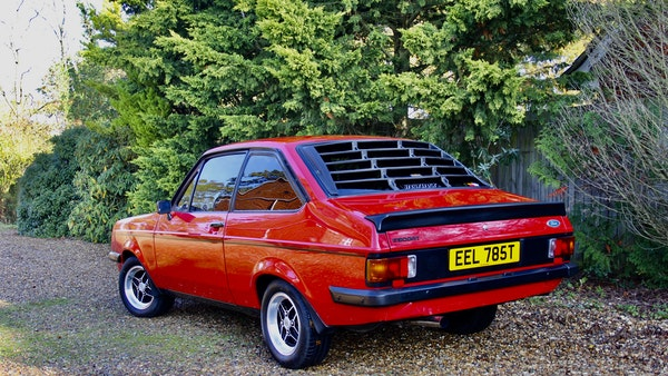RESERVE REMOVED - 1978 Ford Escort RS2000 For Sale (picture 4 of 82)
