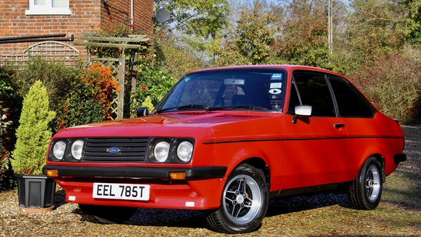 RESERVE REMOVED - 1978 Ford Escort RS2000 For Sale (picture 1 of 82)