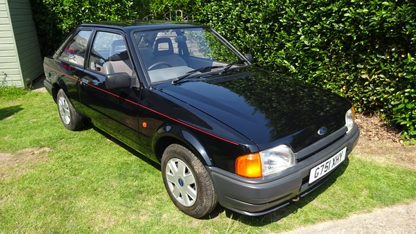 RESERVE LOWERED - 1990 Ford Escort Bonus For Sale (picture 10 of 103)