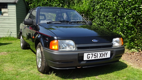 RESERVE LOWERED - 1990 Ford Escort Bonus For Sale (picture 4 of 103)