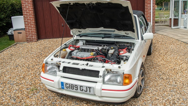 1989 Ford Escort XR3i convertible For Sale (picture 87 of 133)