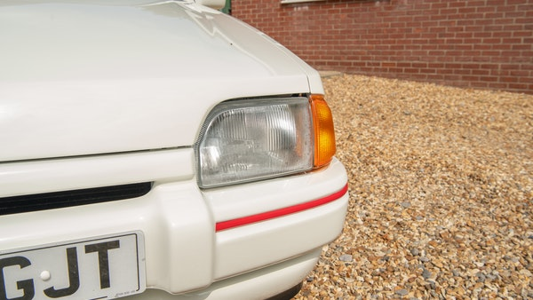 1989 Ford Escort XR3i convertible For Sale (picture 54 of 133)