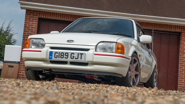 1989 Ford Escort XR3i convertible For Sale (picture 7 of 133)