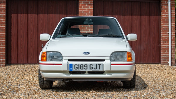 1989 Ford Escort XR3i convertible For Sale (picture 16 of 133)