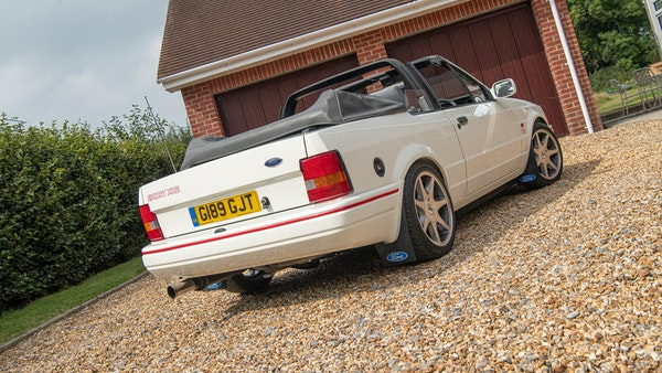 1989 Ford Escort XR3i convertible For Sale (picture 18 of 133)