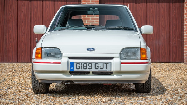 1989 Ford Escort XR3i convertible For Sale (picture 9 of 133)