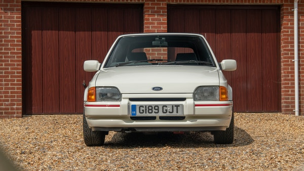 1989 Ford Escort XR3i convertible For Sale (picture 62 of 133)