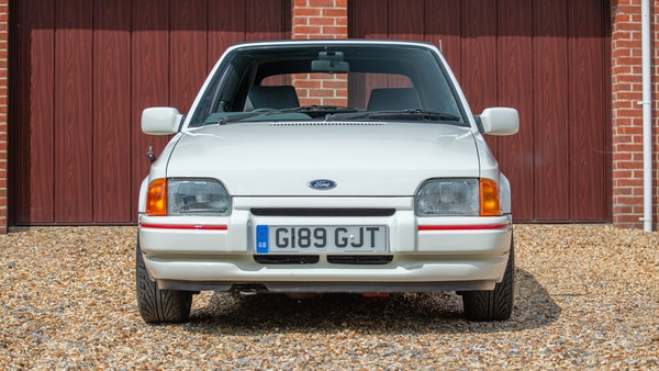 1989 Ford Escort XR3i convertible For Sale (picture 8 of 133)
