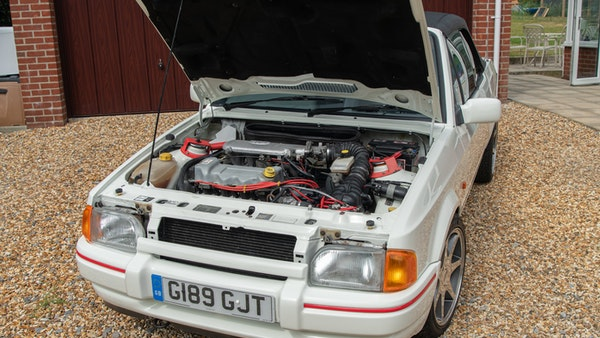 1989 Ford Escort XR3i convertible For Sale (picture 89 of 133)