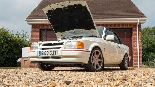 1989 Ford Escort XR3i convertible For Sale (picture 5 of 133)