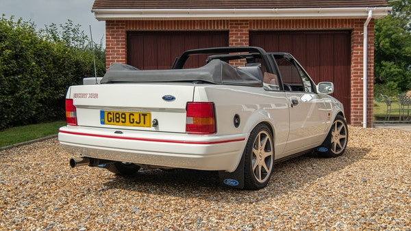 1989 Ford Escort XR3i convertible For Sale (picture 22 of 133)