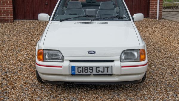 1989 Ford Escort XR3i convertible For Sale (picture 68 of 133)