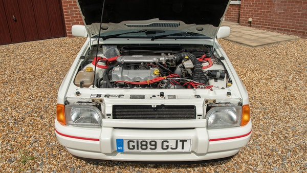 1989 Ford Escort XR3i convertible For Sale (picture 83 of 133)